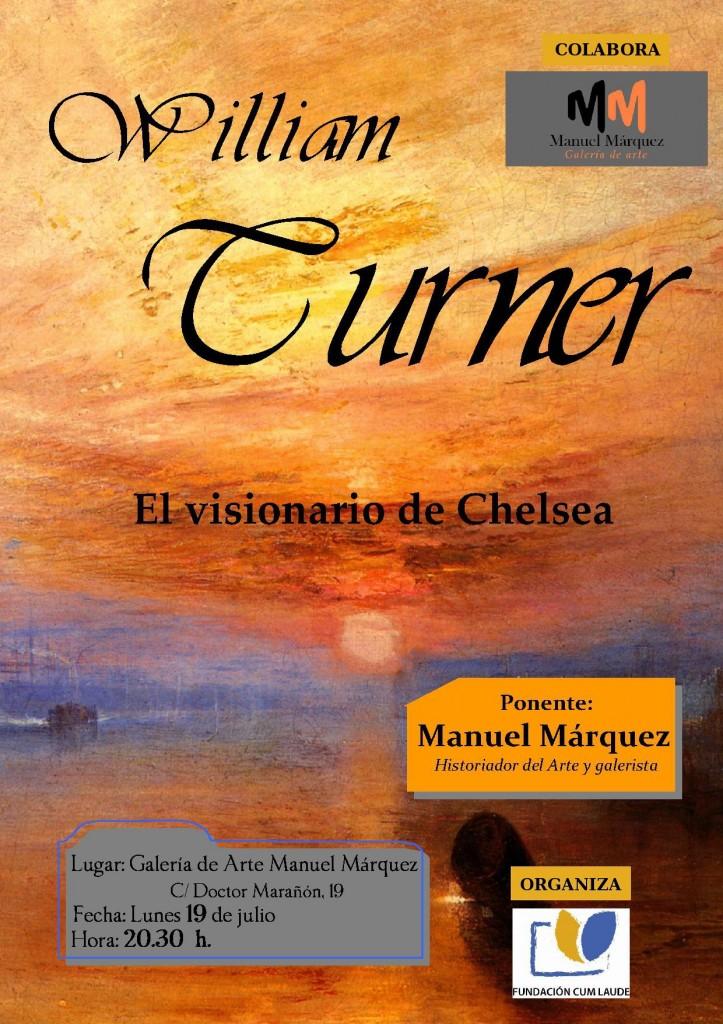 Conferencia sobre William Turner