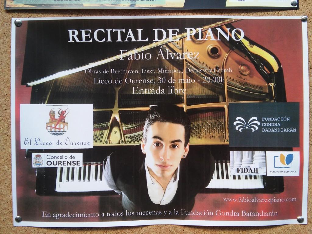 Concierto Fabio 30 mayo 2015