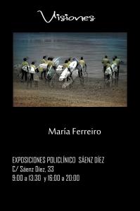CARTEL MARIA FERREIRO